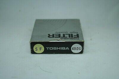 TOSHIBA FILTER HIGH quality    49  mm    SF