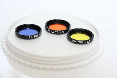 Carl Zeiss Bay 26 filter set for Hasselblad 30mm f/3.5 Fisheye Distagon Lens