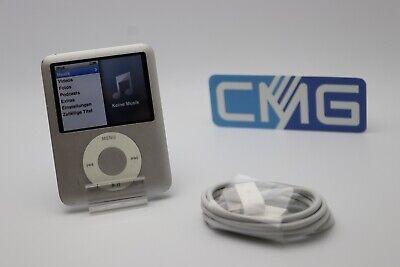 Apple iPod nano 3.Generation Silber 3G 4GB ( guter Zustand, gebraucht ) #A21 Ipod Nano 3. Generation