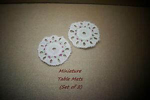 MINIATURE-TABLE-LINEN-TABLE-MATS