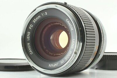 【EXC: Rare O Mark 】CANON FD 35mm f/2 MF Wide Angle Lens FD Mount From Japan