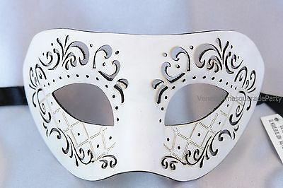 Leather Masquerade Ball for men Halloween night Costume prom Party Eye - Masks For Men Halloween