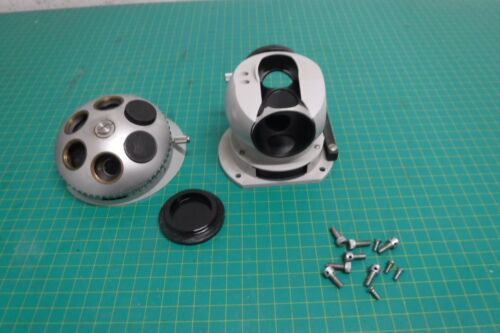 Carl Zeiss Microscope Objective Turret (Only) for Model Zeiss 47 17 05 w/ Screws