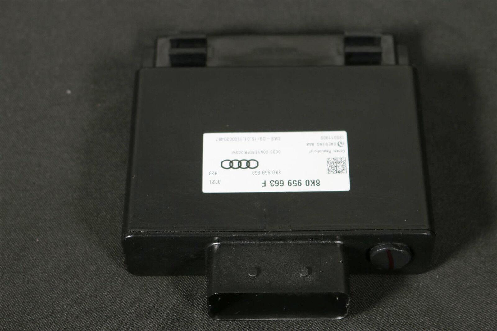 Audi A1 8X A3 8P A4 8K A5 8T A6 A7 S7 4G Spannungsstabilisator 8K0959663F 200W