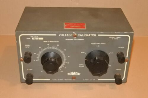 Vintage Allen DuMont Tube Voltage Calibrator 264-B