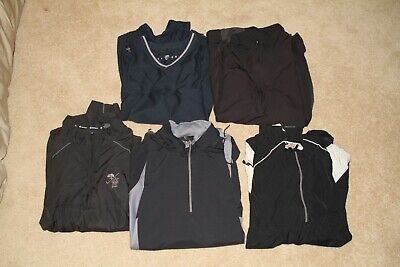 ~ Nike Golf + Sunice + Gear For Sports Pullover Lot QTY 5 XL ~