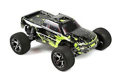 Custom Body Muddy Green for Traxxas 1/10 Rustler / Stampede Truck Shell (10 Truck Body Green)