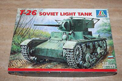 Italeri 359 T-26 soviet light tank 1:35 NEU OVP