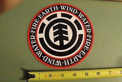 ELEMENT Skateboards Earth Wind Water Fire Tree Logo Skateboarding STICKER ()