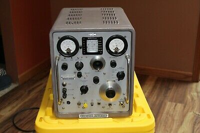 Hp 608d Signal Generator -1958 Fully Analog Restored Manual Included