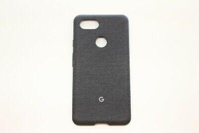 GENUINE Google Pixel 3 XL Fabric Case GA00494 - Carbon Black Black Fabric Case