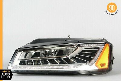 15-17 Audi A8 S8 Left Driver Side Full LED Matrix Headlight Lamp Xenon OEM