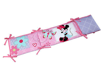 Disney Minnie Mouse 4-Piece Secure--Me Bumper WXI-JGSU