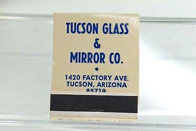 Vintage Tucson Glass & Mirror Co. Tucson Arizona Matchbook