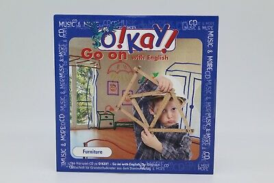 O!Kay! Go on with english | Furniture | Hörspiel Englisch | CD | NEU