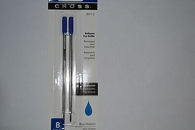 Cross Ballpoint Pen Refills CRO8511-2  BLUE  MEDIUM