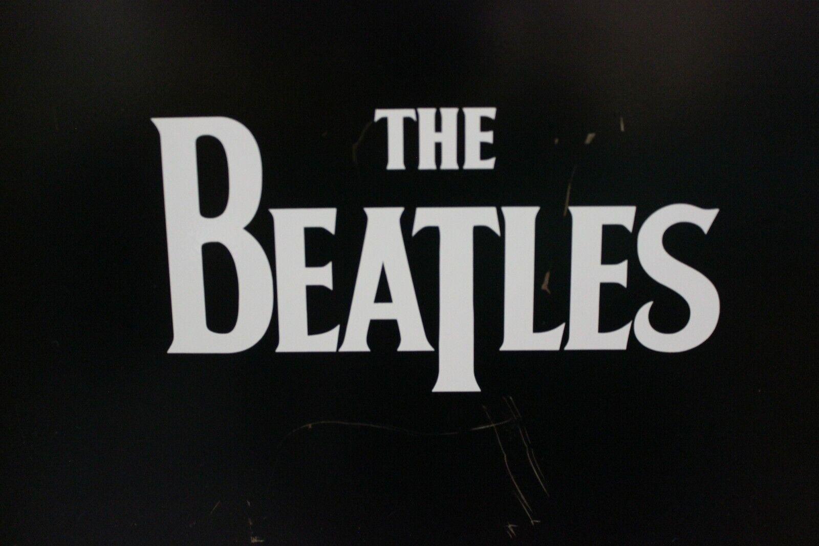 The Beatles Vinyl Car Laptop Decal Sticker