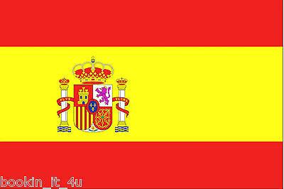 ***SPAIN SPANISH VINYL FLAG DECAL / STICKER***
