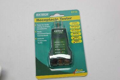 Extech Receptacle Tester Et15