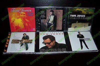 Tom Jones CD Lot Complete The Best of Love Songs Ballads Reloaded Greatest