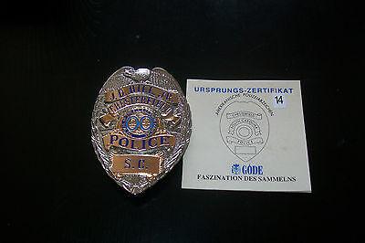 USA Polizeiabzeichen South Carolina Chesterfield Police  Göde