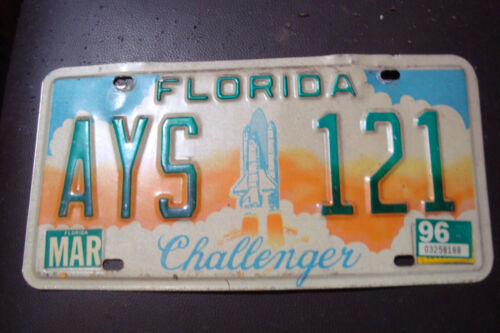 florida Challenger license plate
