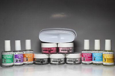 Cuccio Pro Powder Polish Nail Color Dip System Starter Kit