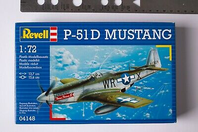 REVELL P-51D MUSTANG Model Kit 04148 SCALE 1:72