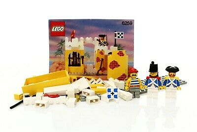Lego Pirates I Imperial Soldiers Set 6259 Broadside's Brig 100% complete +instr.