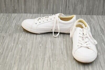 **Taos Footwear Moc Star (MST-13482A) Casual Sneakers - Women's Size 8W - White Star White Footwear