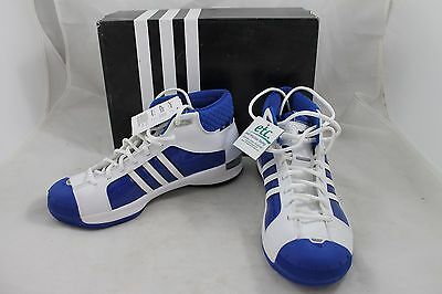 Adidas TS Pro Model Team W Basketball Shoes,Women's Size 9.5,White/Blue,New/NIB