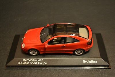 Mercedes Benz C-class Sportcoupe Evolution CL203 2000 Minichamps 1/43 for sale  Shipping to India