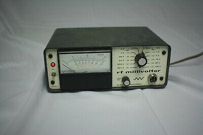 Helper Instruments Rf-801 Rf Millivoltmeter