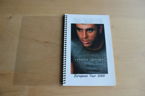 Enrique Iglesias  - Tour ITINERARY - European Tour 2000