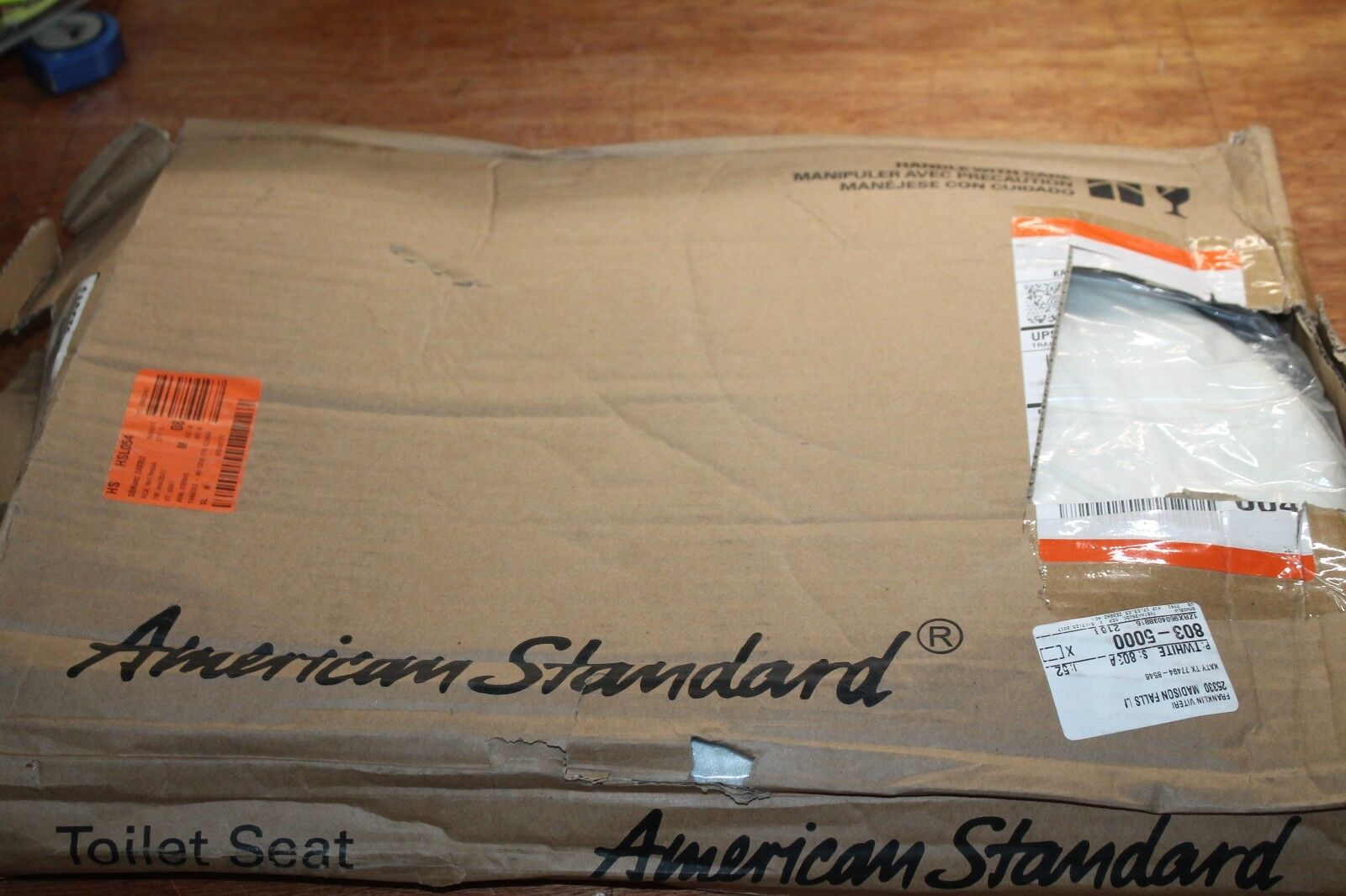 American Standard Cadet3 Elongated Toilet Seat Seat ONLY