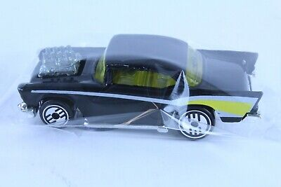 HOT WHEELS '57 CHEVY W/ ULTRA HOTS FROM LARRY WOOD COLLECTION