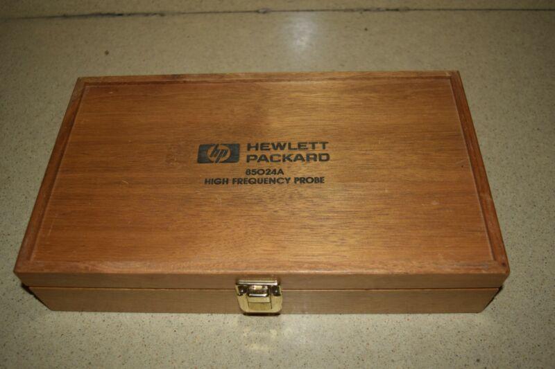 <SS> HEWLETT PACKARD 85024A HIGH FREQUENCY PROBE IN CASE (WS5)