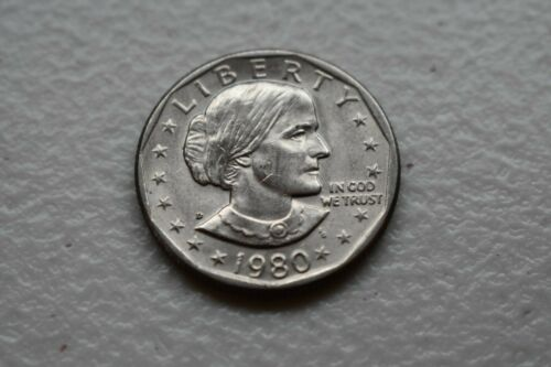 1980 D Susan B Anthony Dollar Coin