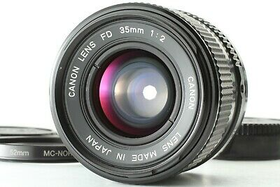 [EXC+5] Canon New FD 35mm f/2 NFD Wide Angle Manual Focus Lens from JAPAN #023
