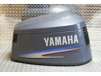 Yamaha 115 HP V4 Engine Cover Top Cowl Assembly PN 6N6-42610-00-00 Fits 1998-01