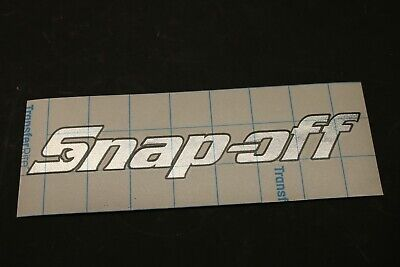 "Snap-on Tools STICK ON 3D LG name plate emblem logo badge 7.5/""x1-5//8 chrome NEW"