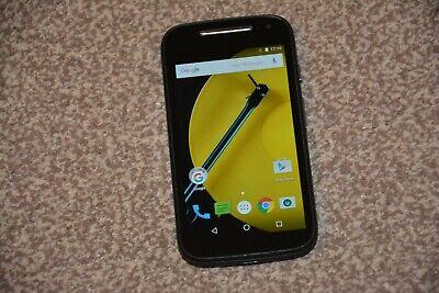 Motorola Moto E XT1524 - 8GB - Black Unlocked (2nd Gen.) Excellent