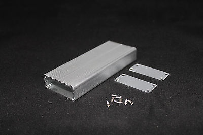 Silver Aluminum Project Box Enclosure Case Electronic Diy 18.5x45x110mm Us Stock