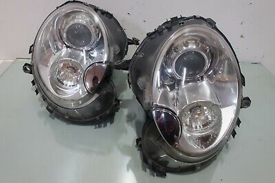 GENUINE MINI COOPER S R56 R57 2008-2011 XENON HID Head Lights Lamps 1 Pairs OEM