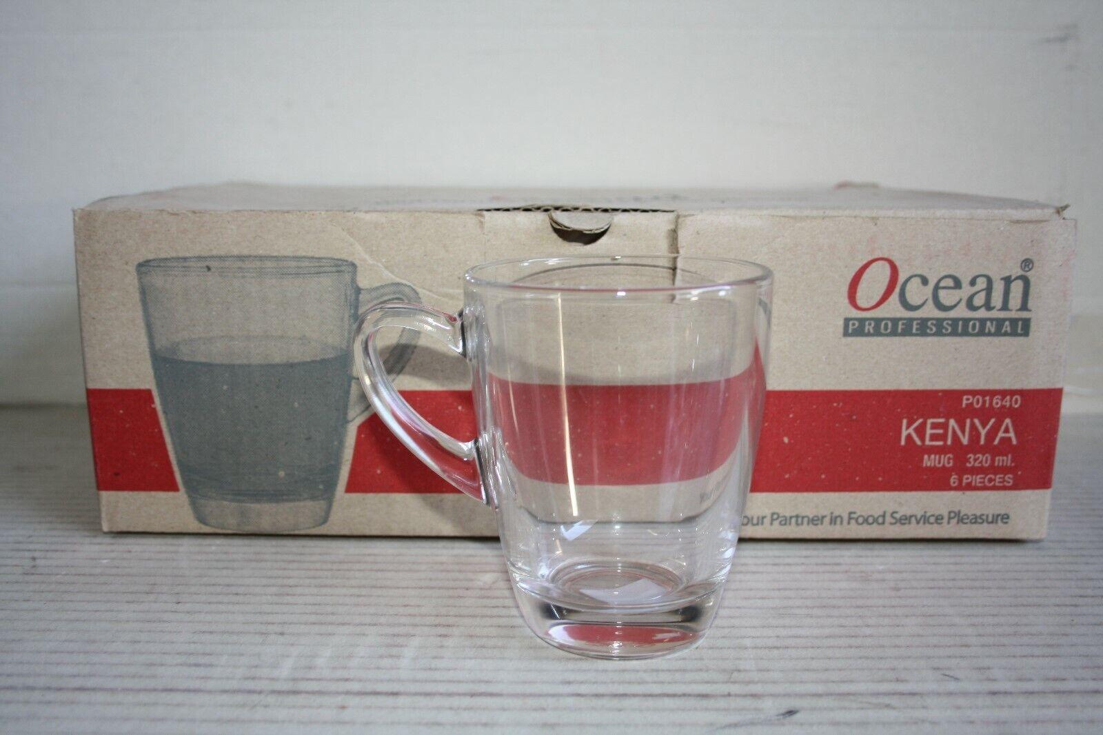 9 Glühwein Grog Tee Tassen Gläser mit Henkel für Heißgetränke 32 cl