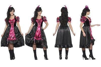 Womens *Plus Size* Saloon Gal Girl Wild West Showgirl Calamity Jane Cowgirl Fun  - Plus Size Wild West Costumes