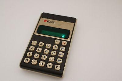 Vintage Sharp Elsi-Mate EL-8117K green LED read-out calculator WORKS GREAT