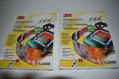 ^^ 3M Multiuso Transparencia Película CG6000 Lote De 2 - Nuevo (TM7)