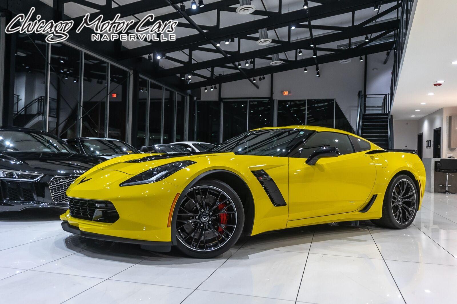 2016 Yellow Chevrolet Corvette Coupe 2LZ   C7 Corvette Photo 1