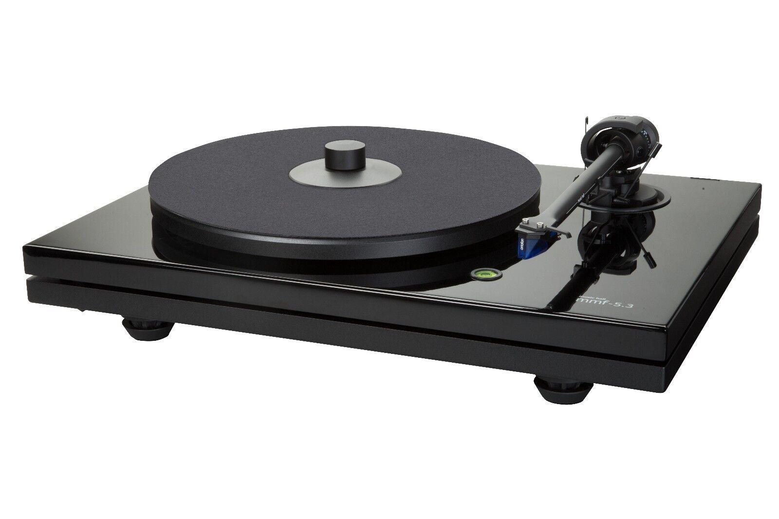 Music Hall MMF5.3 Turntable/ortofon 2MBlue Cartridge/dustcov